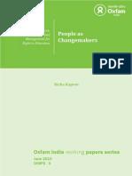 People as Changemakers