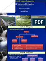 02. Methods of Irrigation