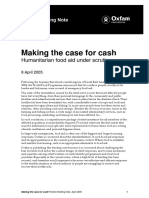 Making the Case for Cash