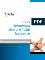 Social Enterprises - Italian and Polish Experiences