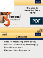 Chapter 6 Measuring Brand Equity