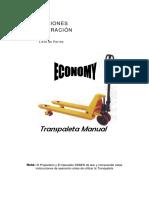 Transpaleta Manual Economy