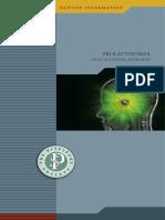 Pituitary Society Prolactinoma Brochure