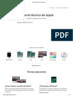 Soporte Técnico Oficial de Apple