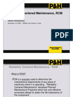 Failure Pattern RCM