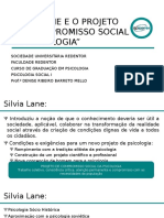 Aula 1 Psicologia Social SILVIA LANE