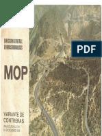 Inauguración de la Variante de Contreras (MOP, 1969)