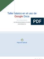 Google Docs Hoja de Calculo