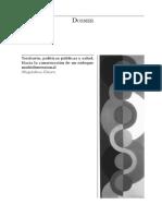 Territorio Politicas Publicas y Salud.