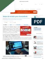 Atajos de Teclado Para ChromeBook