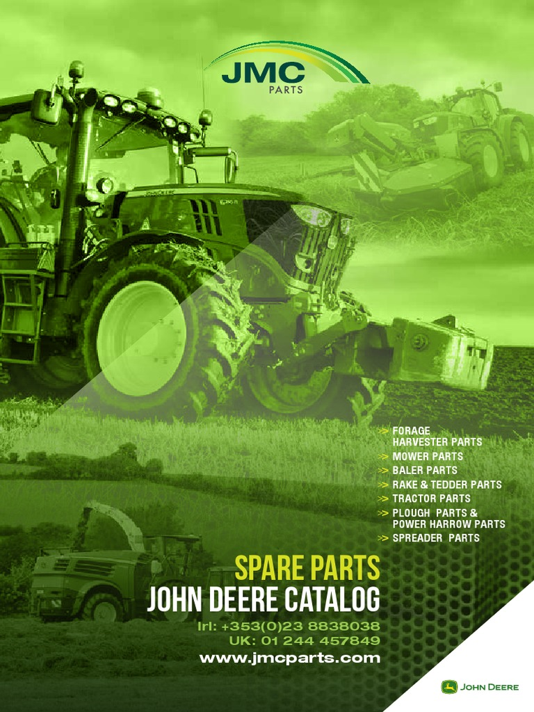 John Deere Parts Catalogue | Tractor | Agricultural Machinery