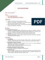 Guia de Estudio Electrofisiologia