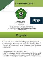 Referat - Postanesthesia Care Unit