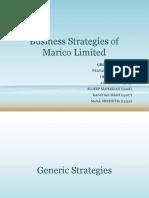 Marico Strategy
