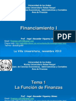 1 Prese Financiamiento 1 Tema 1