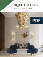 Boutique Hotels - Design & Living 2018