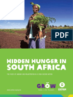 Hidden Hunger in South Africa