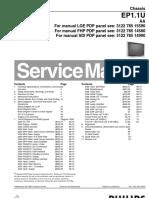 19377835 PHILIPS Chassis EP1 1U AA Service Manual