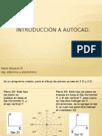 1 Introducción a AutoCAD