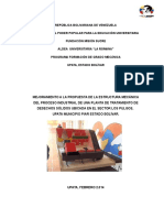 Mejoramiento a La Propuesta de La Estructura Mecánica