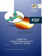 CHME324-B-Lab Manual Fall 2016 (Ahmed Elkhatat)