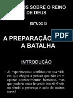 09 - A Preparação Para a Batalha