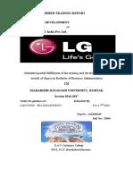 L.G PROJECT REPORT