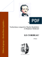 Edgar Allan Poe - Le corbeau - Traductions comparées de C. Baudelaire et S. Mallarmé.pdf