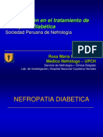 Actualización en El Tratamiento de Nefropatía Diabética Sociedad Peruana de Nefrología