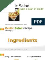6  exotic salad