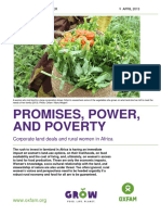 Promises, Power, and Poverty
