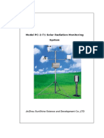 Solar Radiation Monitoring System