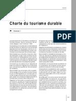 Charte Tourisme Durable