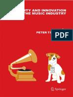 Tschmuck Creativity Innovation Music Industry