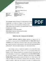 demanda Garantia de Indemnidad Laboral