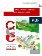 Guía para elaborar  Plan de Monitoreo Regional y Local