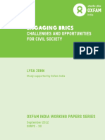 Engaging BRICS