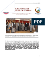 Climate Change Spending in Ethiopia