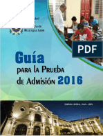 Guia PruebaAdmision2016
