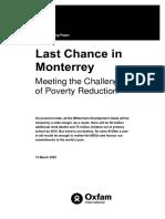 Last Chance in Monterrey