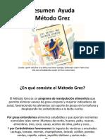 RESUMEN DIDACTICO METODO GREZ