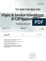 23 Flight & Service Interphone