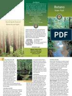 Butano State Park Brochure