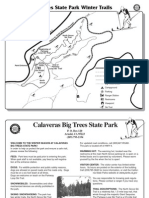 Calaveras Big Trees State Park Ski Map