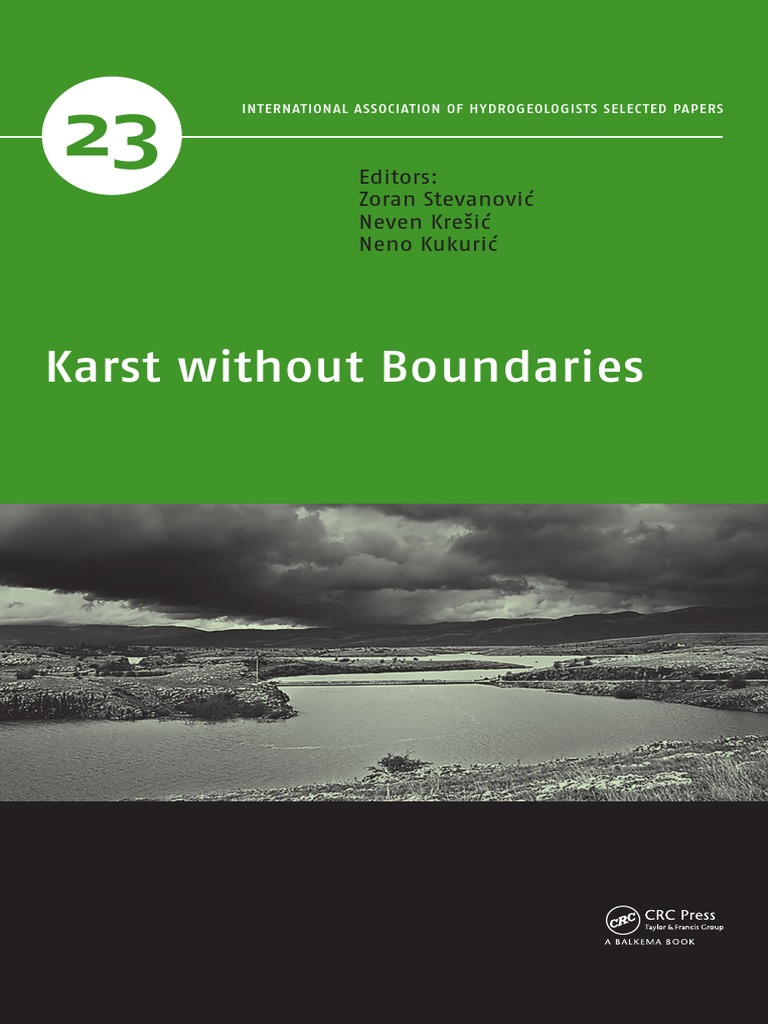 Karst without boundaries water resources groundwater fandeluxe Choice Image