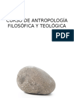 1. Curso de Antropología Filosófica y Teológica