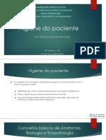 Higiene Do Paciente PDF