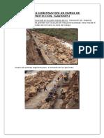 Proceso Constructivo de Muros de Proteccion