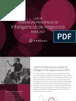 Tendencias Principales de Inteligenciade Negocios 2017
