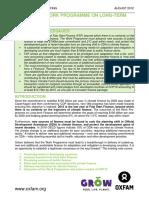 The UNFCCC work programme on long-term finance